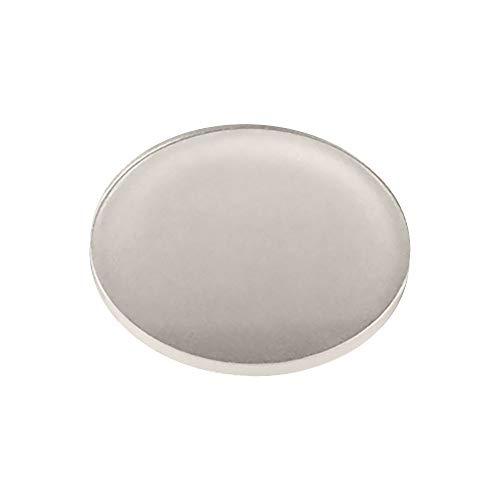 Plastic Bumpers Pads Clear Protective Noise Dampening Bumpers for Glass Table Top, Desk, Cabinets, Drawers, Furniture - 0.8mm (Pack of 10) by TroySys