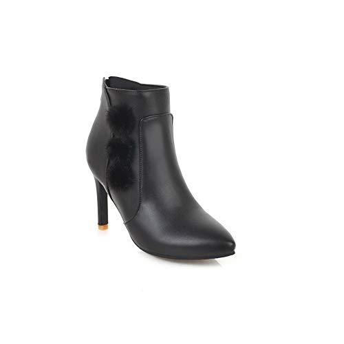 Femme Sandales Abl11187 Balamasa Noir Compensées wvS7688qp