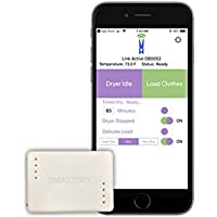 SmartDry Wireless Laundry Sensor for iPhone -Smart Dry Wireless Alerts for Any Clothes Dryer (Gas or Electric) - Wireless Smart Home Clothes Dryer Accessory
