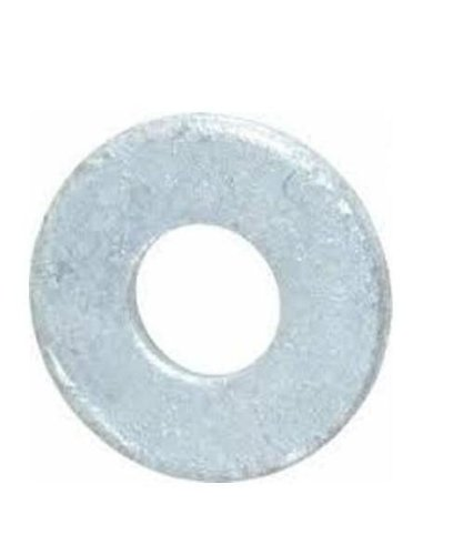 Steel Flat Washer, Hot-Dipped Galvanized Finish, ASME B18.22.1, 3/4