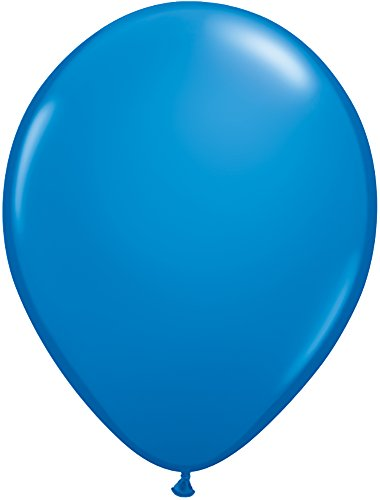 Qualatex 43742 100-Count Latex Balloon, 11-Inch, Dark Blue ()