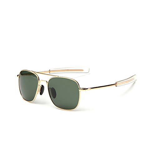 WPF Retro Polarized Sunglasses Aviator Sun Glasses for Men