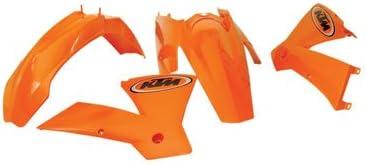 Acerbis Replica Plastic Kit KTM Orange for KTM 450 EXC 4-Stroke 2005-2007