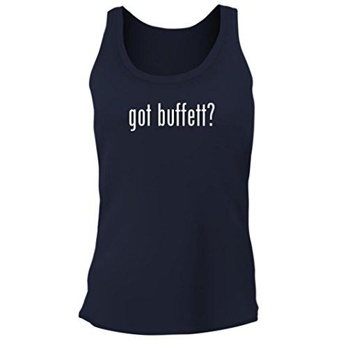 Tracy Gifts got Buffett? - Women's Junior Cut Adult Tank Top, Navy, Medium for $<!--$21.89-->