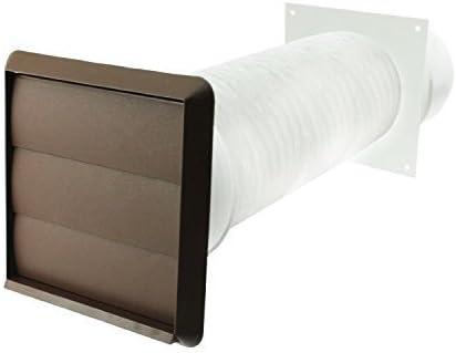 Spares2go Pared Exterior Tubo Kit para Neff Campanas Extractoras (Marrón, 10.2cm / 102mm): Amazon.es: Hogar