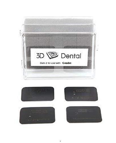 Dental Gendex Type Phosphor Plates Pk/4 Size 2