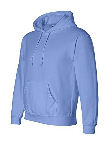 Gildan G125 DryBlend Adult Hooded Sweatshirt, Carolina Blue, Medium