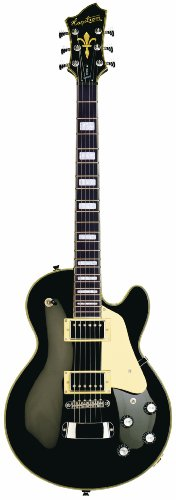 Hagstrom Super Swede Electric Guitar (Black Gloss)