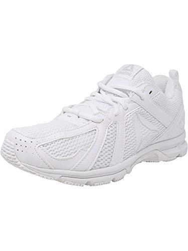 Reebok Men's Runner Sneaker, White/Skull Grey, 14 M US