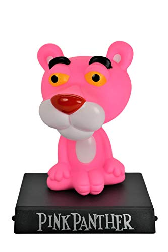 Pink Panther PVC Bobble Head Figure Car Dashboard Office Home Accessories Ultra Detail Doll (Pink - Pink Pvc Figure