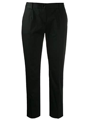 - Dolce e Gabbana Women's Ftagntfufisn0000 Black Cotton Pants