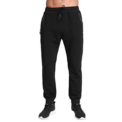 ZOXOZ Tracksuit Bottoms Mens Joggers Slim Fit Jogging Bottoms Zip Pockets