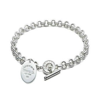 abb61ae82 Amazon.com : Return to Tiffany & Co Round Tag Toggle Necklace Tiffany  Necklaces : Sports & Outdoors