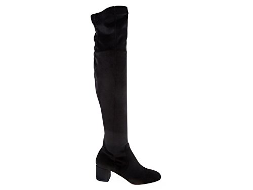sale nicekicks AQUAZZURA Thigh High Boots In Black Suede Leather - Model Number: ESEMIDB0 VST 000 Black extremely online clearance cheap online 5qyqXfp6s