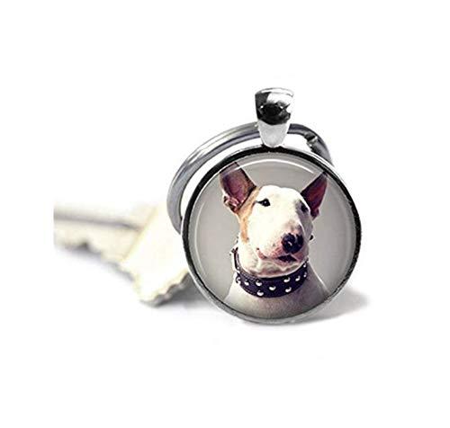 Terrier Glass Ornament - 7