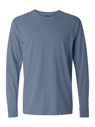 Comfort Colors Ringspun Garment-Dyed Long-Sleeve T-Shirt (C6014)- BLUE JEAN, L from Comfort Colors