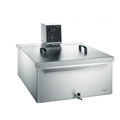 Fusionchef 9FT1B58 Stainless Steel Pearl Sous Vide Complete Water Bath System - 15.3 gallon/58 Liter