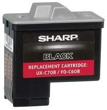 Sharp UX-C70B Blk Ink Crtdge - Factory Direct (Sharp Uxc70b compare prices)