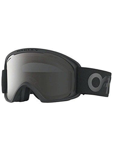 Oakley OO7045-24 O2 XL Eyewear, Factory Pilot Blackout, Dark Grey Lens by Oakley