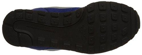 Nike MD Runner 2 (GS) Zapatillas de running, Niños Azul royal / Gris / Verde / Blanco