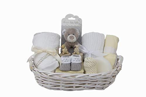 Luxury Newborn Baby Gift Hamper Basket, Unisex, Free delivery