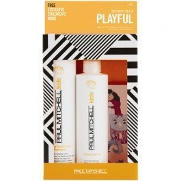 Paul Mitchell Because Youre Playful Duo-Baby Dont Cry Shampoo - 10.14 oz/Taming Spray 8.5 - Dont Shampoo Cry Baby