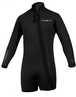 NeoSport Men's Premium Neoprene 5mm Waterman Wetsuit Jacket, XX-Large