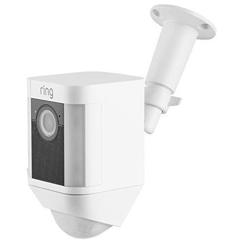 (Ring Spotlight Cam Mount, Adjustable Indoor/Outdoor Sturdy Mountfor Ring Spotlight Cam Battery (1 Pack))