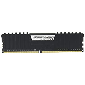 Corsair Vengeance LPX 8GB (2 X 4GB) DDR4 3000 (PC4-24000) C16 Desktop Memory for - Black PC Memory CMK8GX4M2C3000C16