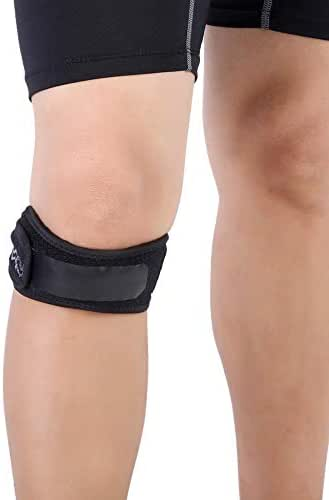 Pangding Knee Protector, Breathable Sporting Running Basketball Fitness Kneelet Support Strap Bands