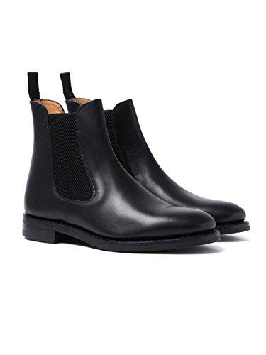 Loake Blenheim Mens Chelsea Boots Black Waxy