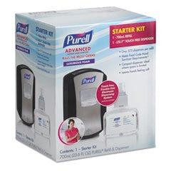 Gojo Ltx-7 Advanced Instant Hand Sanitizer Kit, 700ml, To...