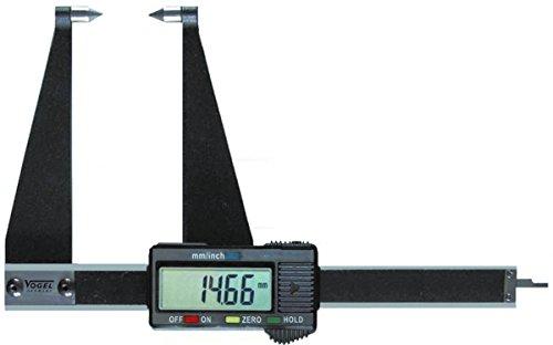 Pied à coulisse digital pour disque de frein, 100mm/4Inch 100mm/4Inch Vogel Germany 206021