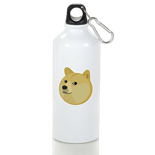 Dog Costume Fails (Htouch Funny Dog Aluminum Sports Water Bottle,White, Easy To Carry, Eco Friendly And Leak Proof)