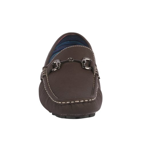 Brown Js Slip On Tony Awake 02 Mens Moccasins Loafers 8xwqP8z