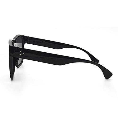 Black États Lunettes Gray Frame Couleur de De Europe Black Lunettes Tendance Unis Lens Lens Abat Hommes Soleil Frame TLMY De Jour des Gray Soleil 5fRAx5Yw