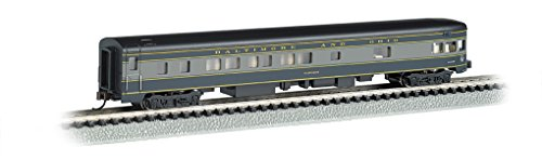 Bachmann Industries Smooth Side B&O N-Scale Observation Car, 85'