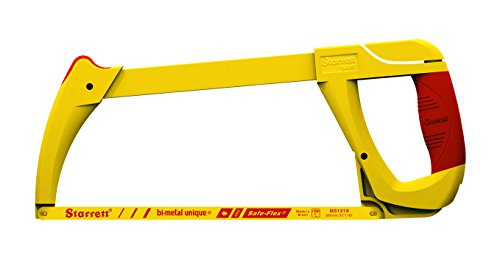 Starrett K145 12-Inch High Tension Hacksaw Frame with Closed Grip ()