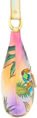 Zimbelmann Michaela Sac à main pour femme en cuir nappa peint à la main