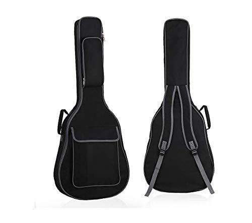 Generic-UNIQUE-ENTERPRISES-Guitar-Padded-Bag-Black-Grey-Cover-Case-Soft-Fabric