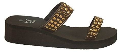 Flops 11 Evelyn Evelyn Flip Style Evelyn Flops Wedge Flip Wedge Brown Style 11 Brown Wedge qwRxAOfPT
