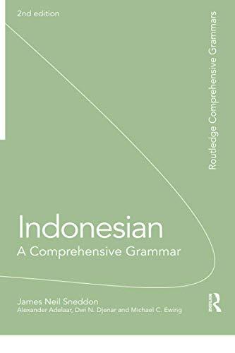 Indonesian: A Comprehensive Grammar (Routledge...