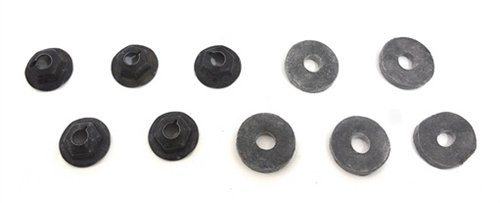 Heater Box Firewall Cover Mounting Nuts Set, 10 Pieces - Heater Box Cover