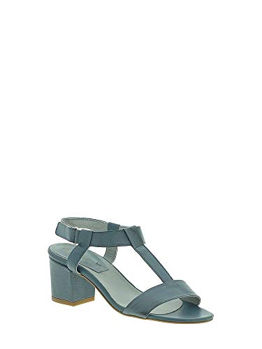 Donna Sandalo Tacco Blu 3895k Mally nPaYxzwqS