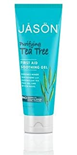 Jason Purifying Tea Tree, Skin Oil 1 oz (Pack of 3) ESTEE LAUDER/DOUBLE WEAR BRUSH-ON GLOW BB HIGHLIGHTER 1C LIGHT .07 OZ