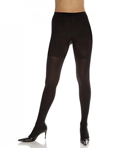 Spanx Tummy Control Pantyhose - SPANX Bodyshaping Tight-End Tights 128 - Size C(Black)