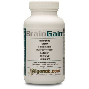 BrainGain 1 Bottle / 90 softgels