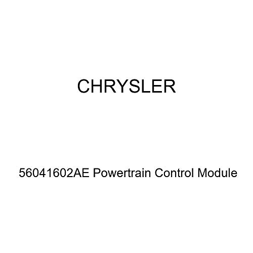 (Genuine Chrysler 56041602AE Powertrain Control Module)