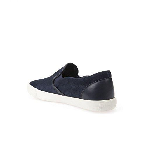 Geox - Zapatillas para hombre Azul marino-Blanco