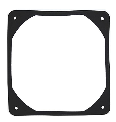 Coolerguys 120mm Anti-Vibration Rubber Fan Gasket - Black
